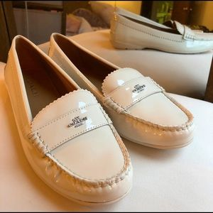 Coach Odette Patent Leather Loafers